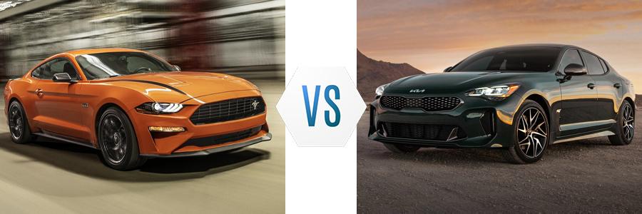 2021 Ford Mustang vs Kia Stinger
