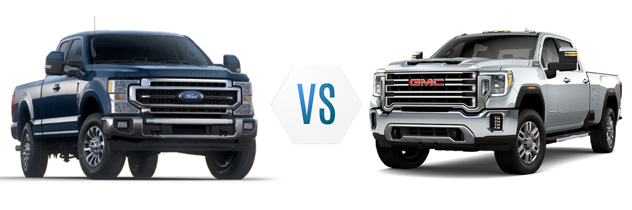 2021 Ford F-350 vs GMC Sierra 3500