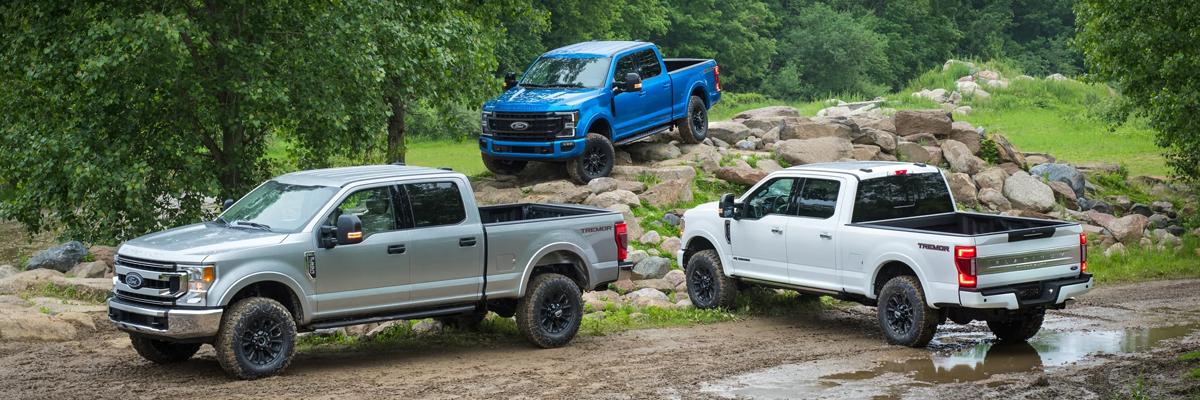 Why choose Ford Trucks