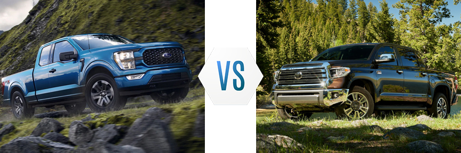 2021 Ford F-150 vs Toyota Tundra