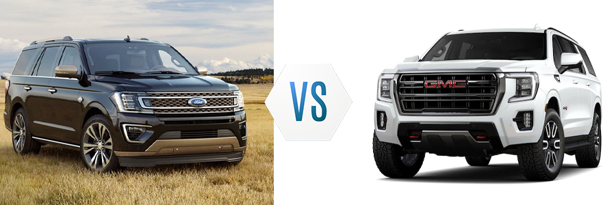 2021 Ford Expedition vs GMC Yukon