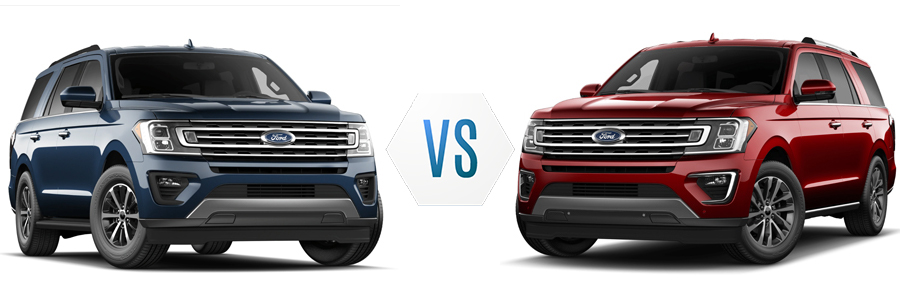 2020 Ford Expedition XLT vs Limited