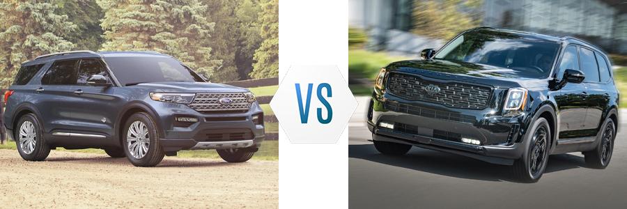 2021 Ford Explorer vs Kia Telluride